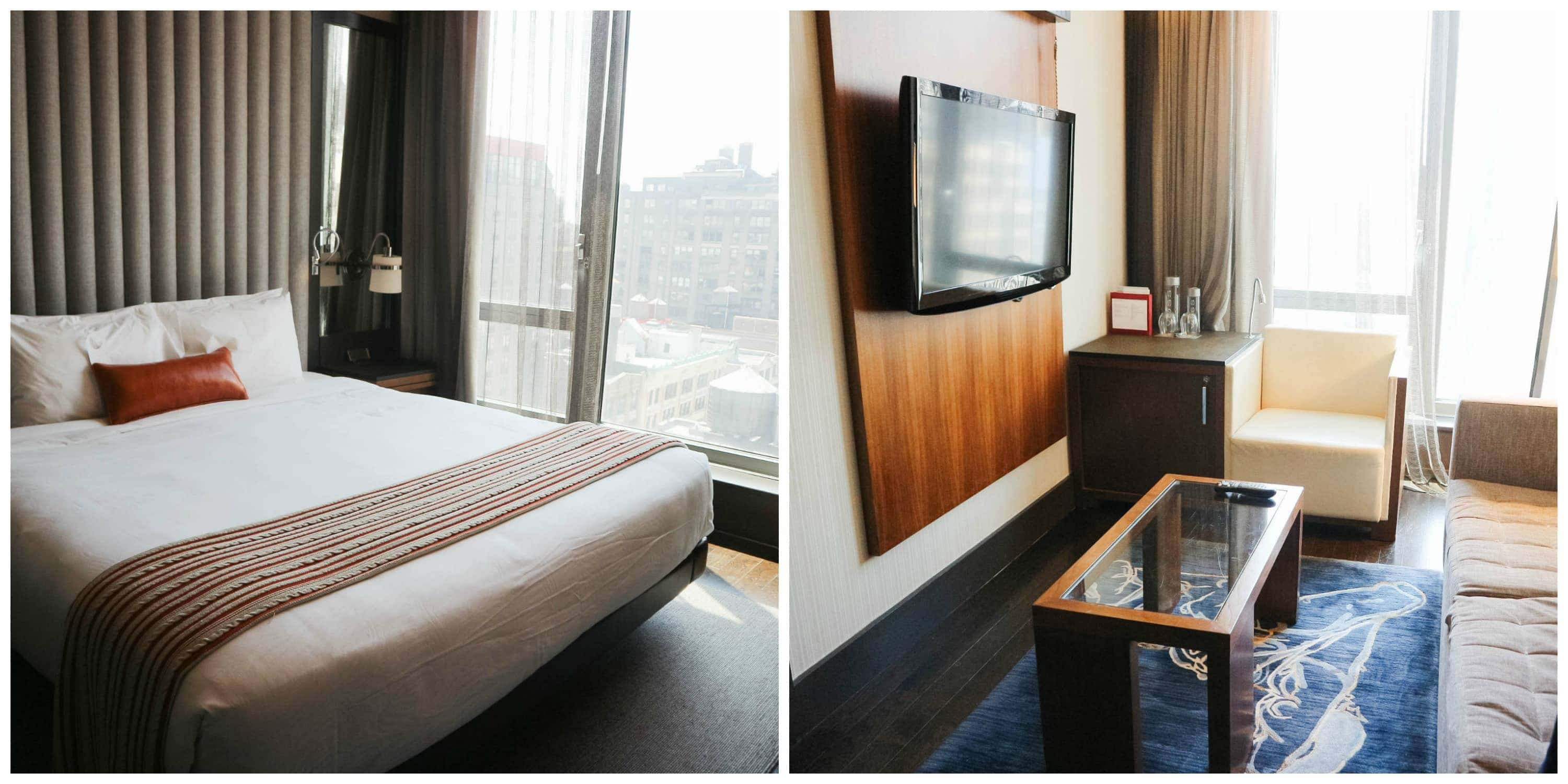 Kimpton Hotel Eventi Executive King Suite in New York City - New York City family trip by Meg O. on the Go