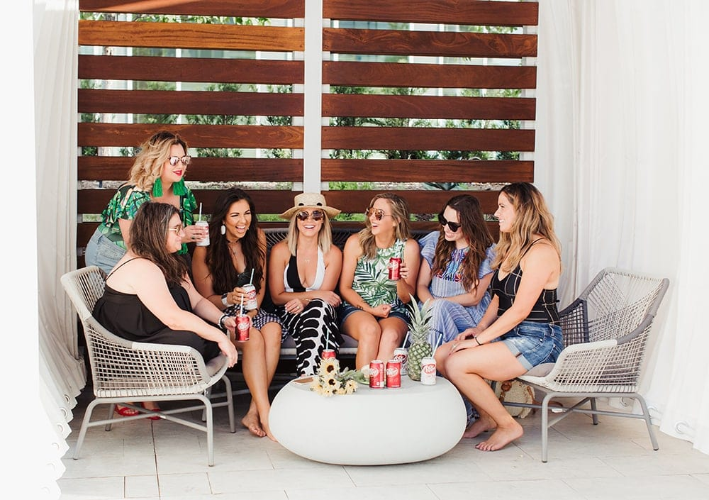 Ladies Only Pool Party - written by Houston blogger Meg O. on the Go
