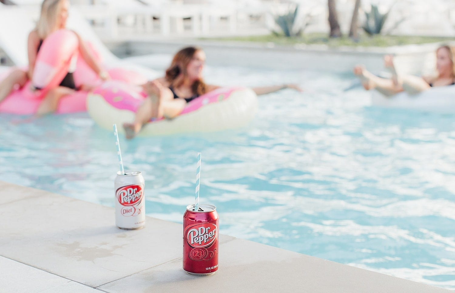 Pool party with Dr. Pepper