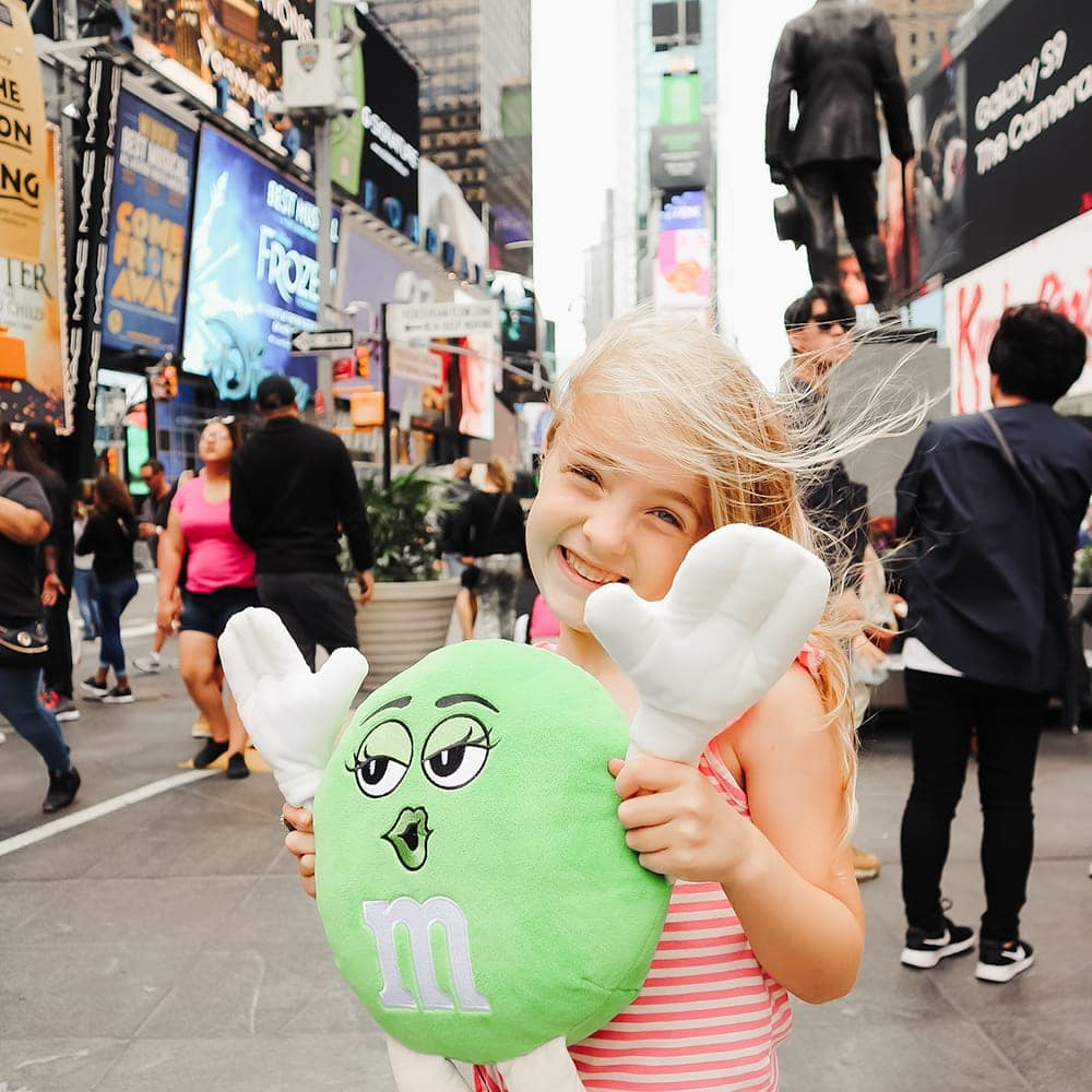 Times Square in New York City with Kids - travel guide written by Meg O. on the Go