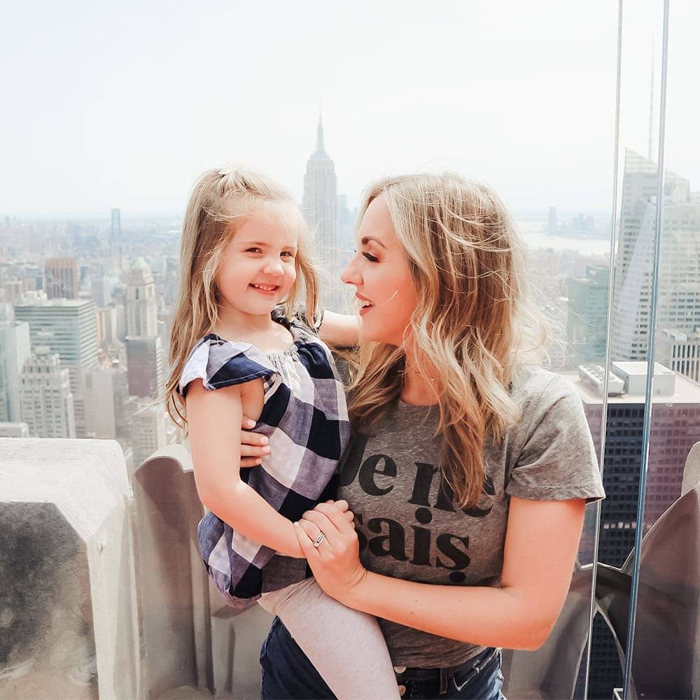 Top of the Rock NYC - family travel guide by Meg O. on the Go