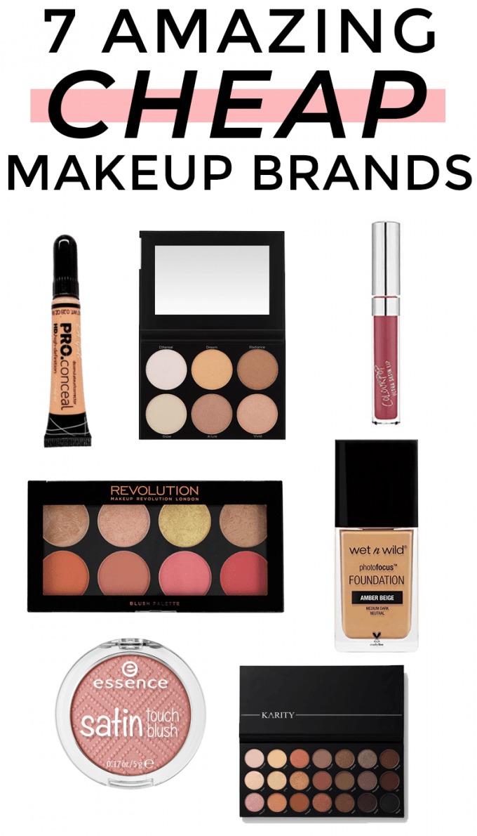 Popular Houston beauty blogger Meg O. on the Go shares 7 cheap makeup brands that are actually great quality. Have you heard of any of these?