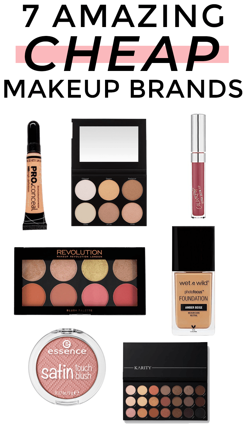 7 Cheap Makeup Brands That Are Actually