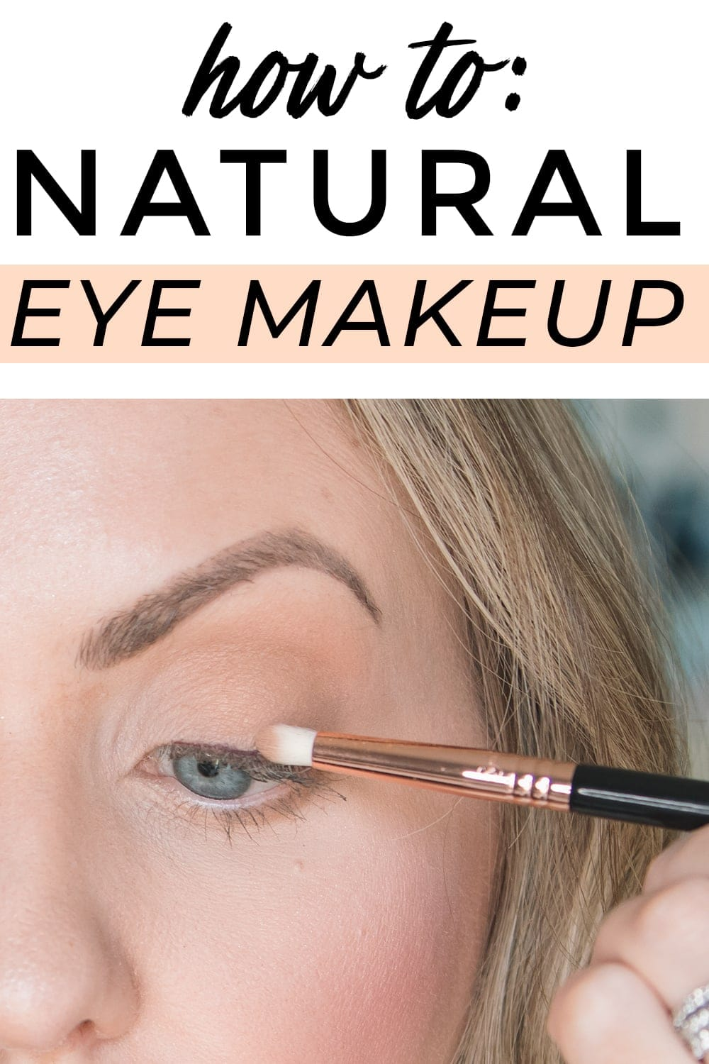 Houston beauty blogger Meg O. on the Go shares a natural eye makeup tutorial