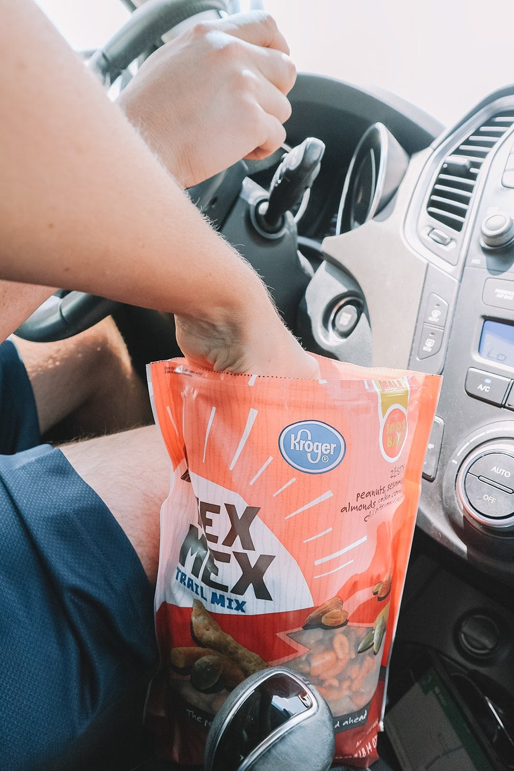 Stock up on snacks for your next road trip at Kroger!