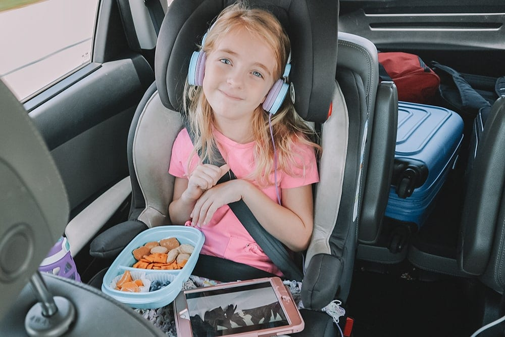 Houston mommy blogger Meg O. on the Go shares some road trip snack ideas for kids