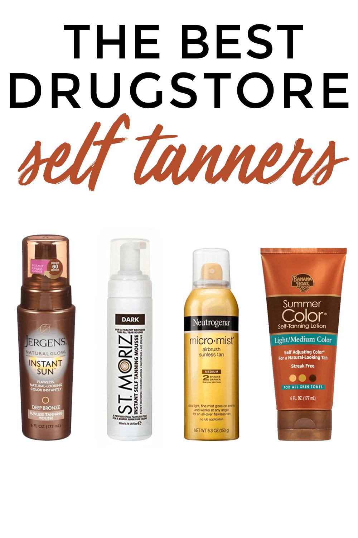 Popular Houston beauty blogger Meg O. on the Go shares the best drugstore self tanners