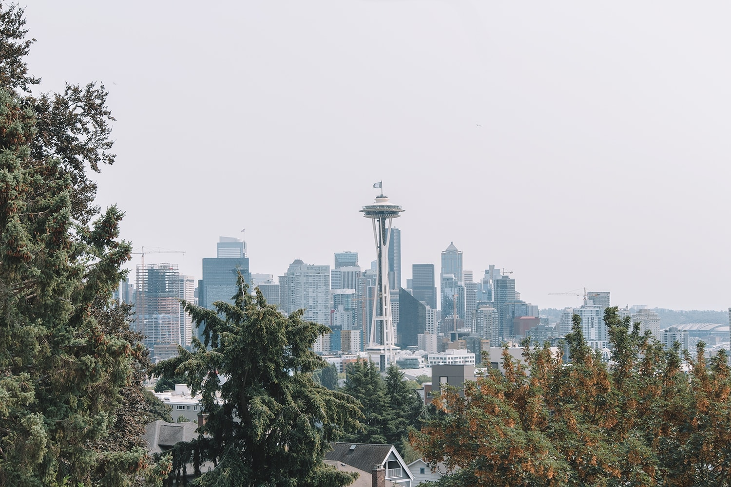 Kerry Park in Seattle, Washington - Pacific Northwest Road Trip travel guide