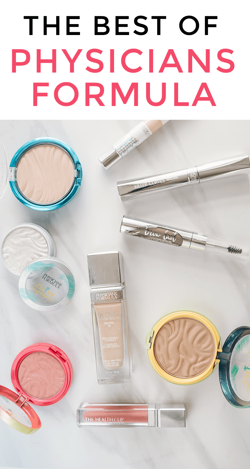 Best Physicians Formula products - best makeup products from the brand! #makeup #drugstoremakeup #physiciansformula #beauty #beautyblogger #beautytips