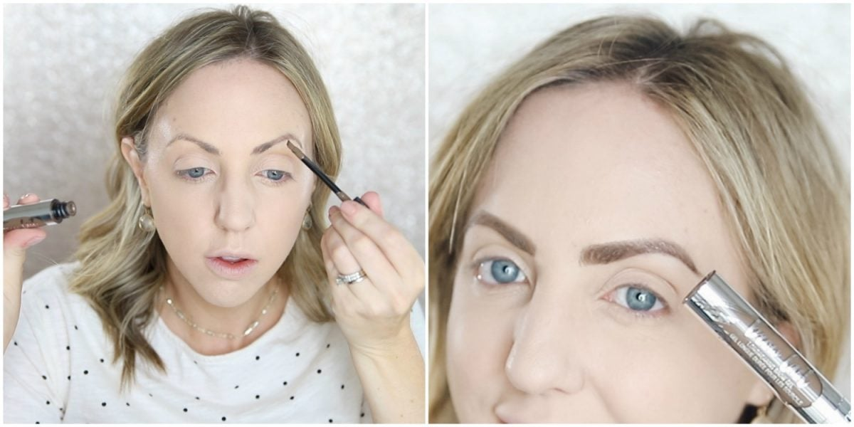 Houston beauty blogger Meg O. on the Go shares a before and after of the Physicians Formula Brow Last - Physicians Formula Brow Last Before and After
