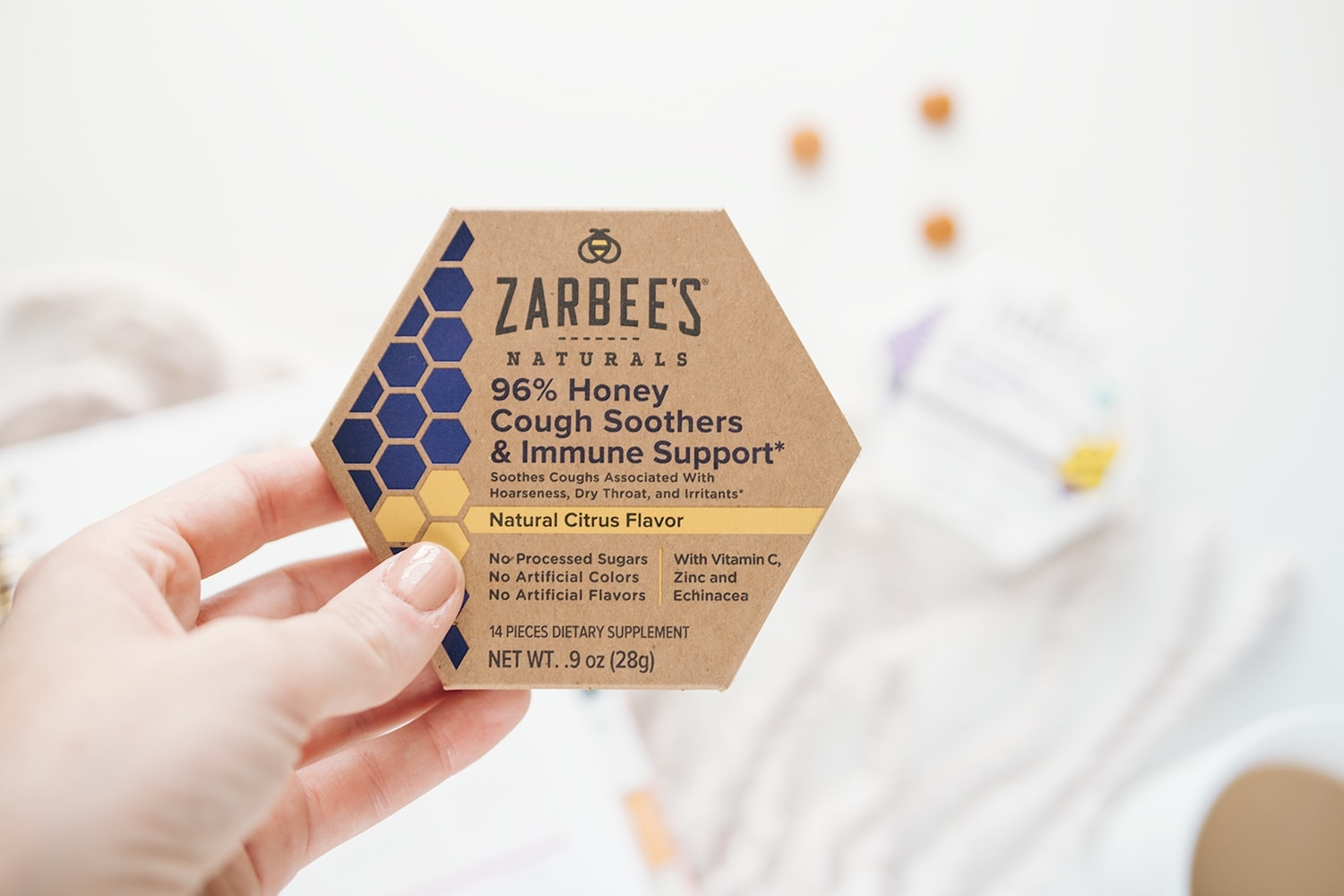 Zarbee's 96% Honey Cough Soothers & Immune Support