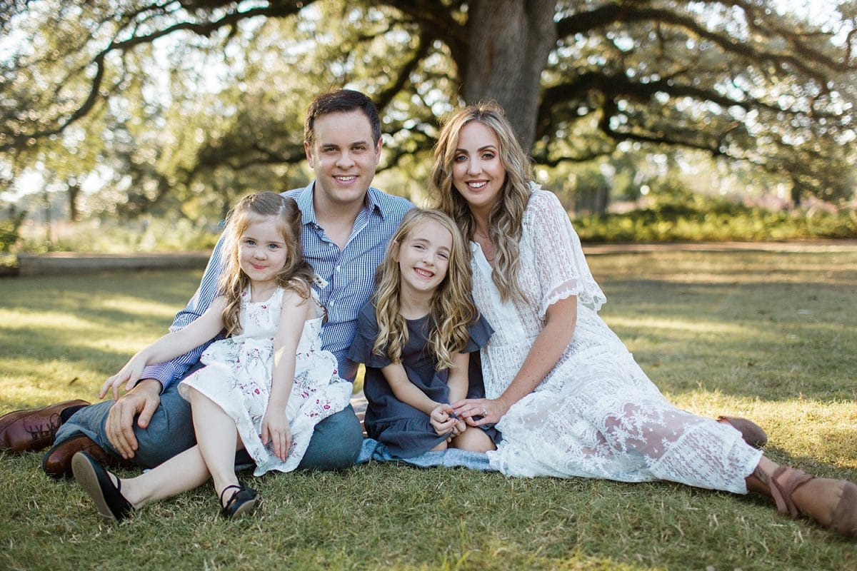 Houston blogger Meg O. on the Go shares her family photos by Houston photographer Snapshots by Ailee Petrovic