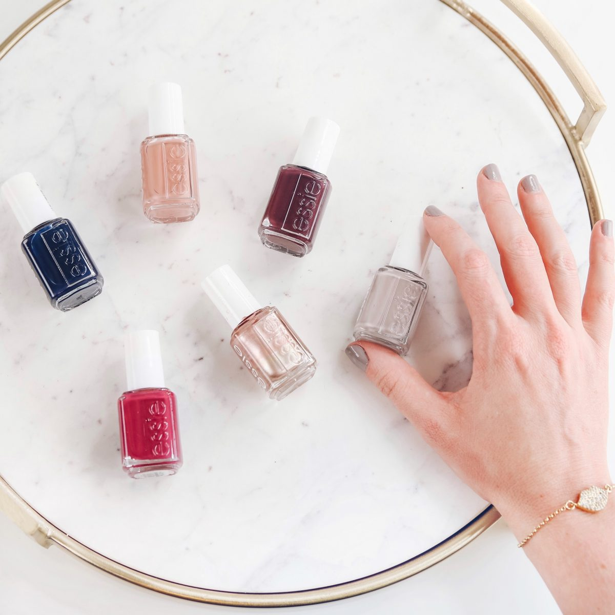 Houston beauty blogger Meg O. on the Go shares her favorite fall and winter nail colors