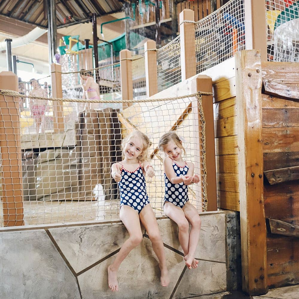 Indoor Water Park at Great Wolf Lodge in Grapevine Texas
