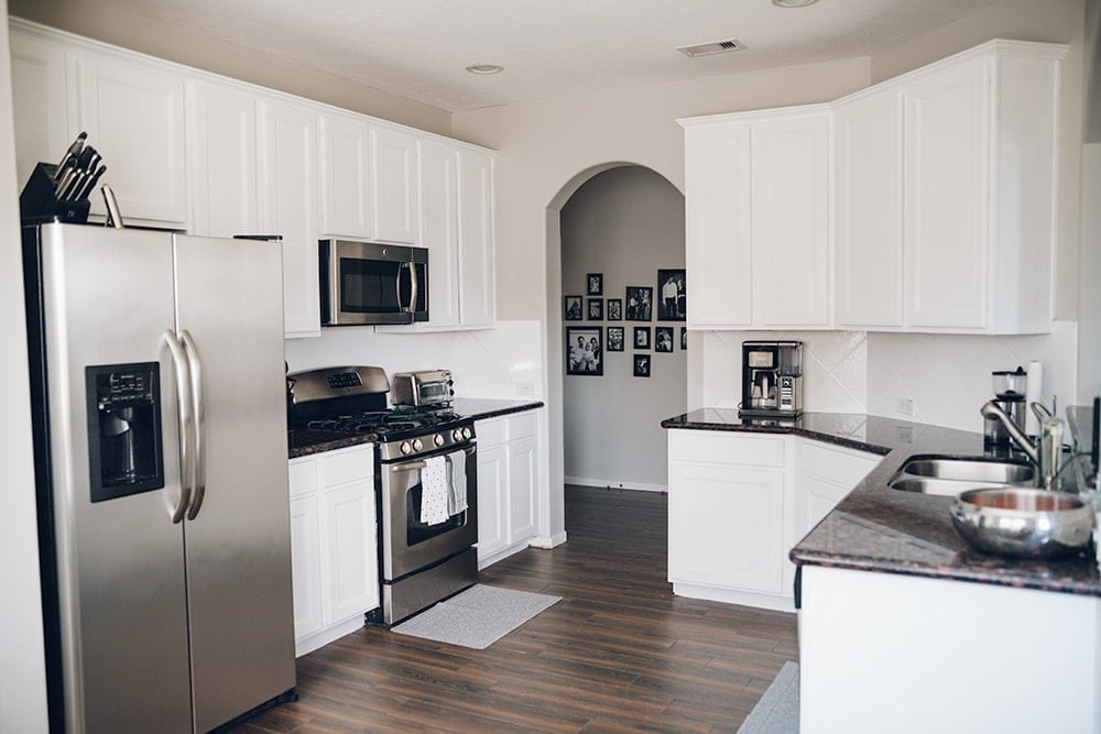 Houston blogger Meg O. on the Go shares her kitchen makeover on a budget
