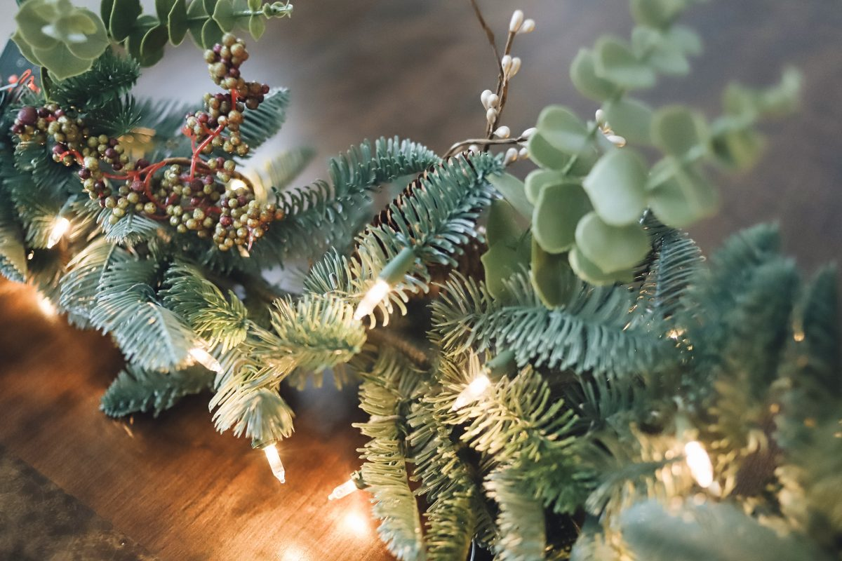 Balsam Hill indoor outdoor garland