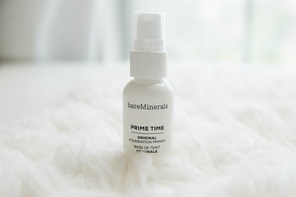Houston beauty blogger Meg O. on the Go shares the best of bare minerals makeup - Prime Time Foundation Primer