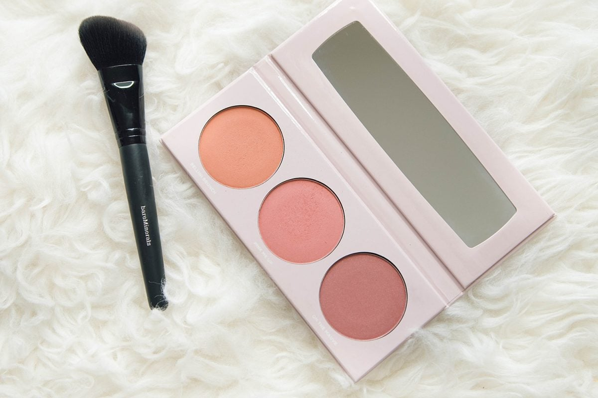 Houston beauty blogger Meg O. on the Go shares the best of bare minerals makeup - Gen Nude Blush Palette