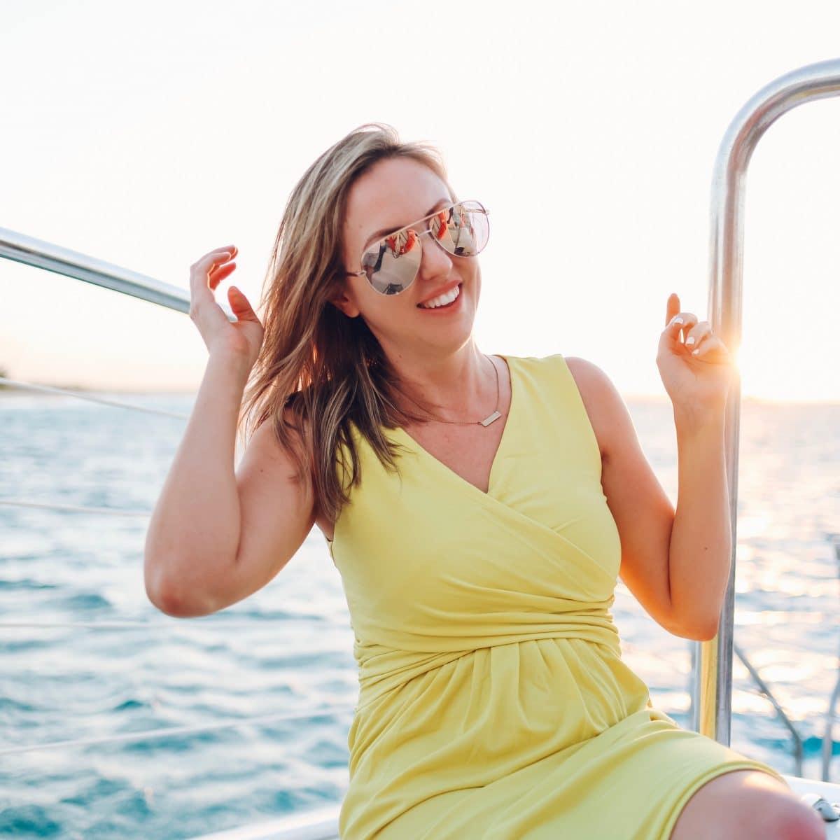 Kitty Katt Catamaran at Beaches Turks and Caicos - travel guide by Houston blogger Meg O. on the Go