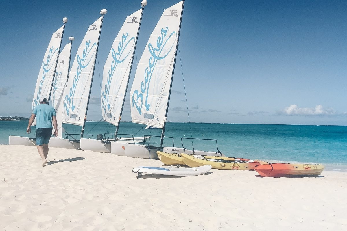 All water sports at Beaches Turks and Caicos