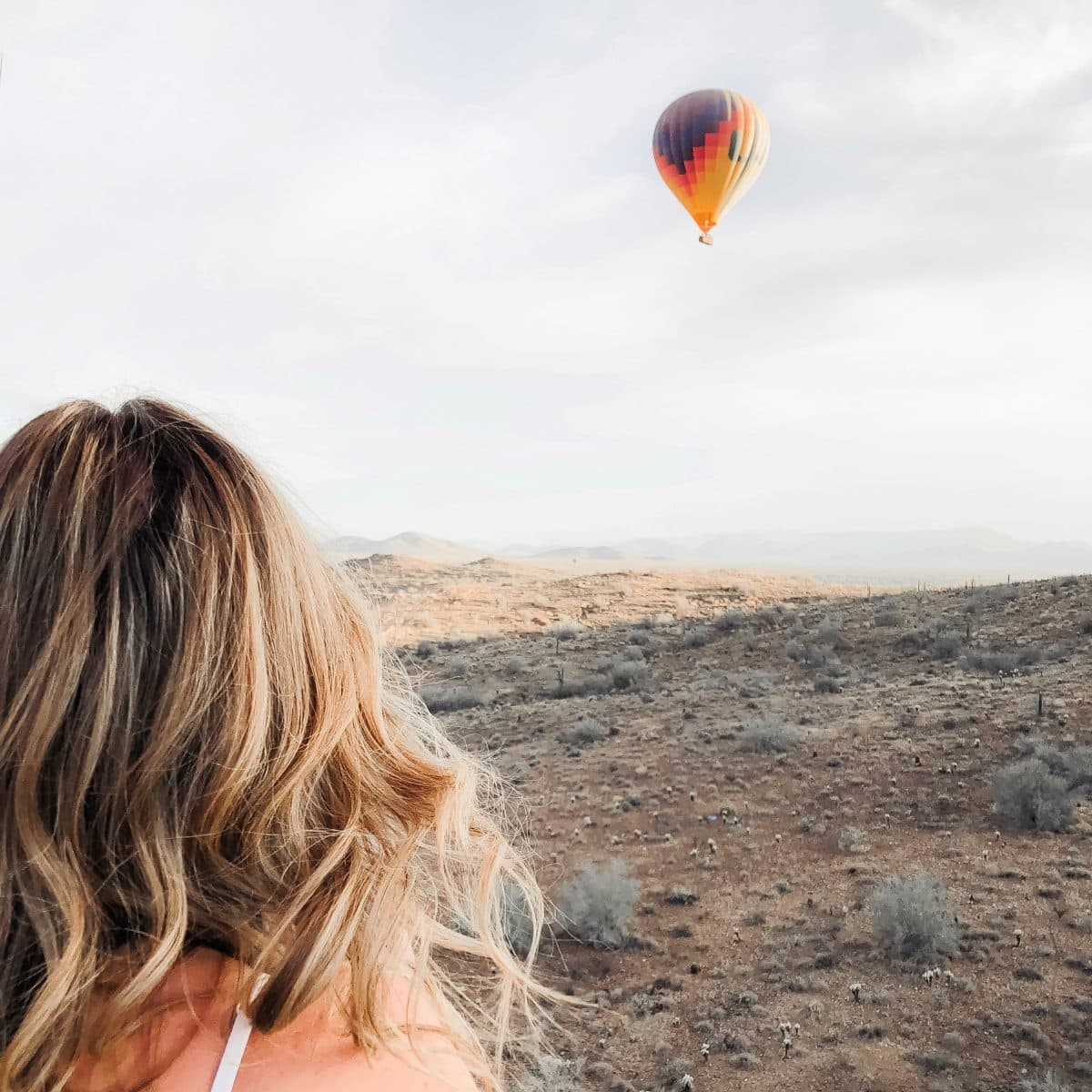 Hot Air Expeditions Scottsdale Arizona - hot air balloon ride in the desert
