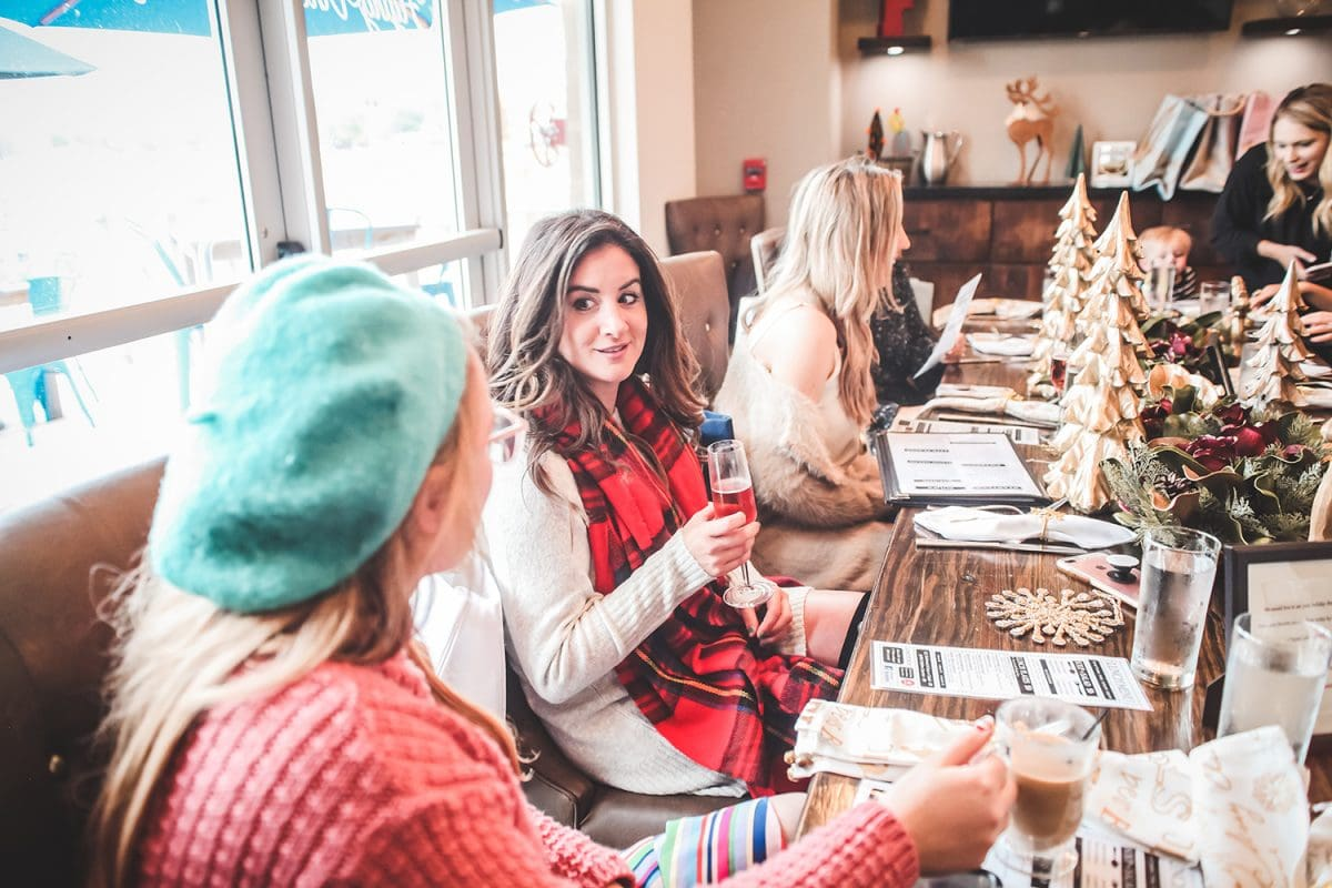 Flying Vine Wine Bar & Bistro at Boardwalk Towne Lake is the perfect place to host a holiday lunch