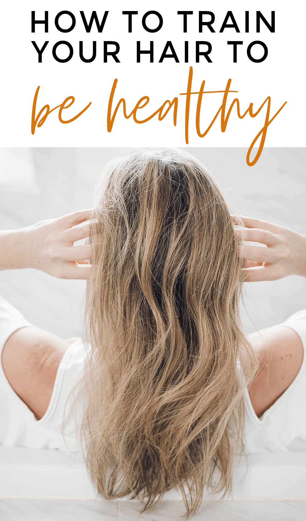 Houston blogger Meg O. on the Go shares some practical tips on how to train your hair to be healthy