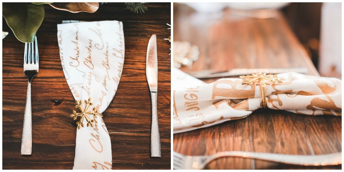 Houston blogger Meg O. on the Go shares a recap of her Houston blogger holiday lunch at Boardwalk Towne Lake in Cypress - table decor by The Royal Standard