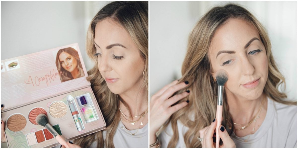 Houston beauty blogger Meg O. on the Go shares how to apply the Physicians Formula Butter Collection x Casey Holmes blush