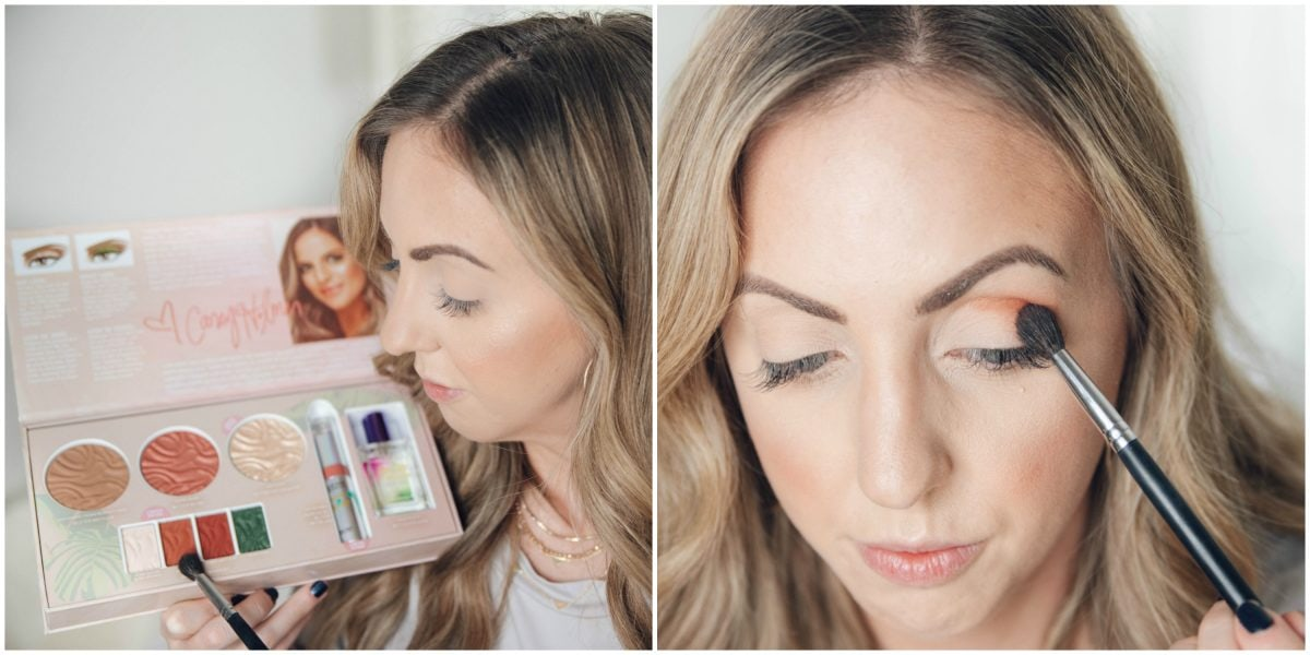 Houston beauty blogger Meg O. on the Go shares how to apply the Physicians Formula Butter Collection x Casey Holmes eyeshadow in No Filter