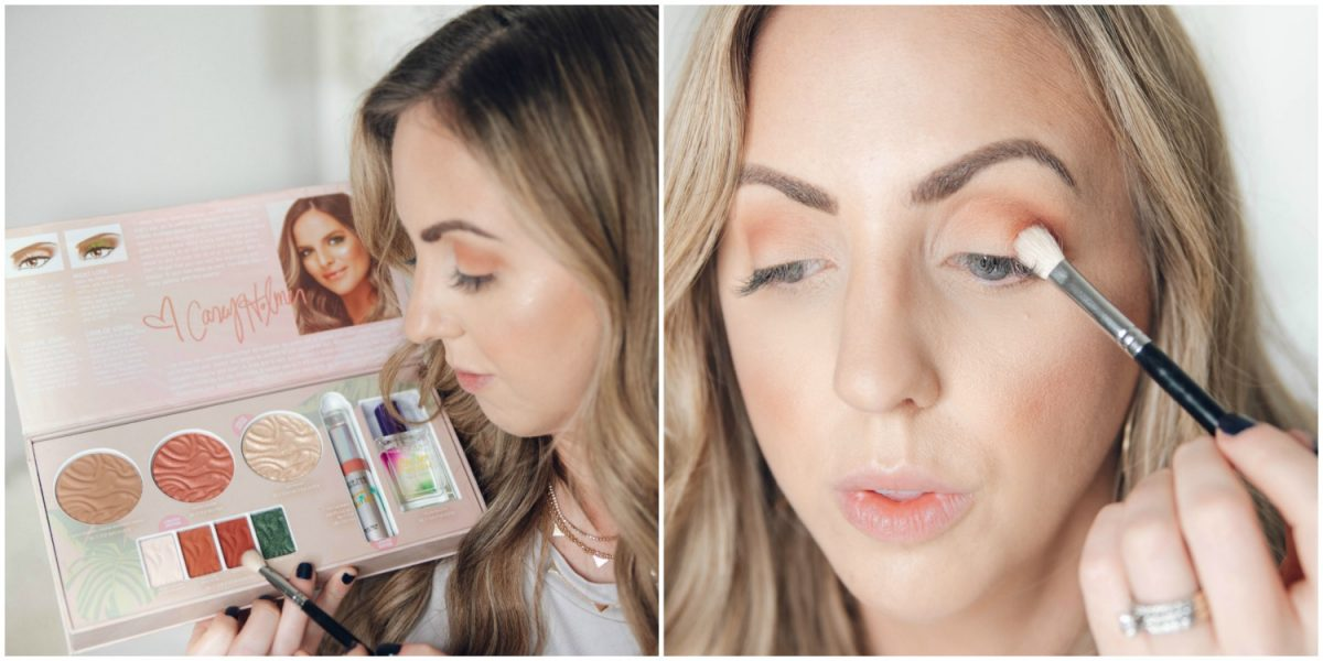 Houston beauty blogger Meg O. on the Go shares how to apply the Physicians Formula Butter Collection x Casey Holmes eyeshadow in Tropic Like It's Hot