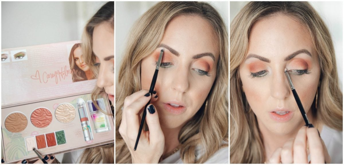 Houston beauty blogger Meg O. on the Go shares how to apply the Physicians Formula Butter Collection x Casey Holmes eyeshadow in Do Not Disturb
