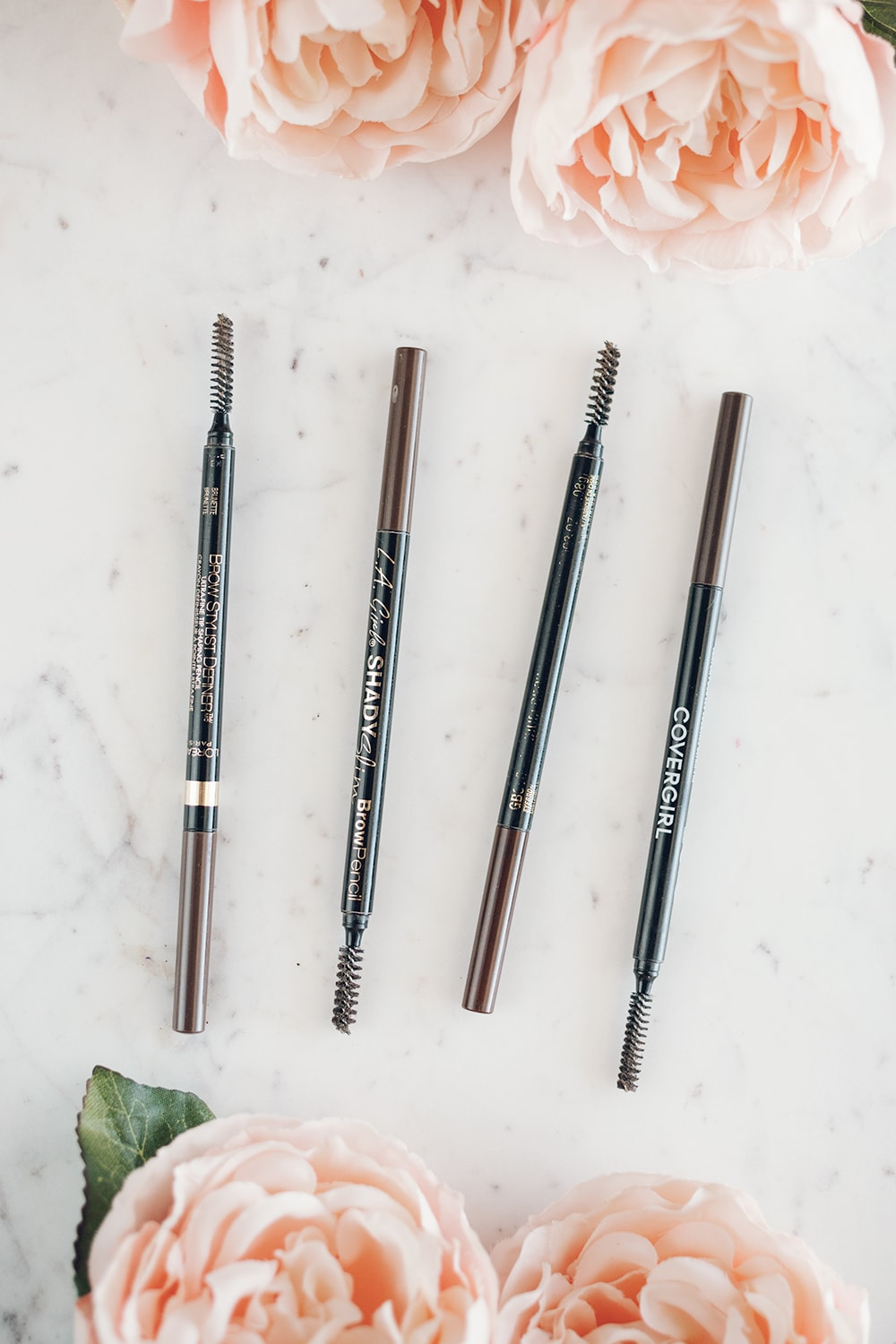 If you're looking for the best drugstore eyebrow pencil, Houston beauty blogger Meg O. on the Go is sharing 5 fabulous options
