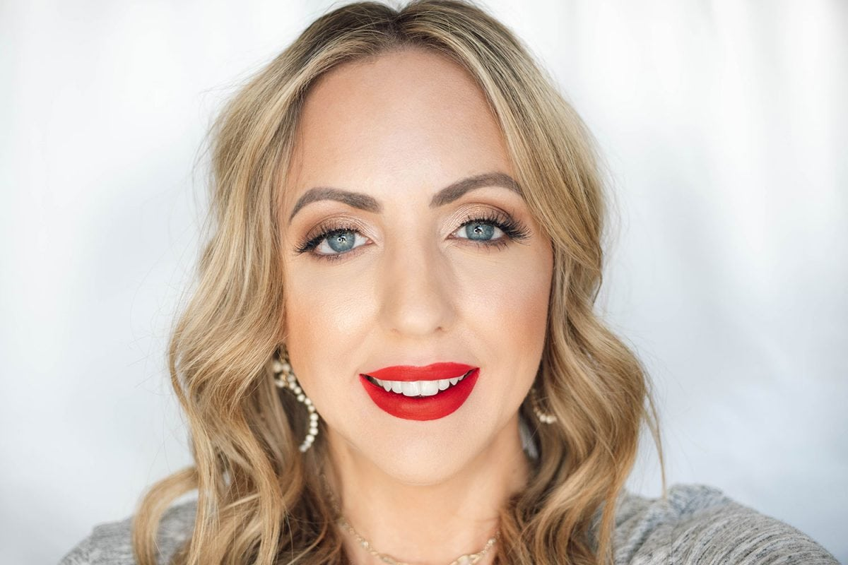 Houston beauty blogger Meg O. on the Go shares the best drugstore lipsticks for fair skin - Physicians Formula Healthy Lip in Fight Free Redicals