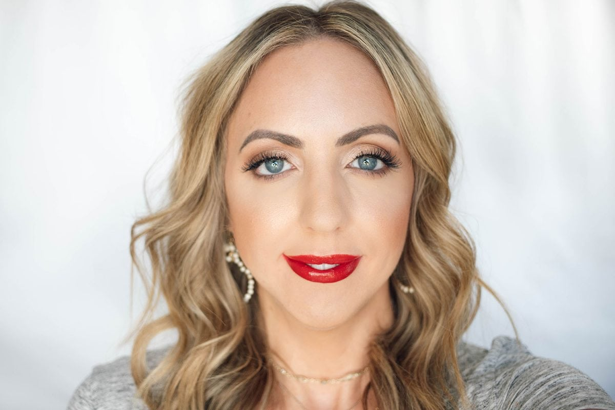 Houston beauty blogger Meg O. on the Go shares the best drugstore lipsticks for fair skin - Rimmel Provocalips Play with Fire