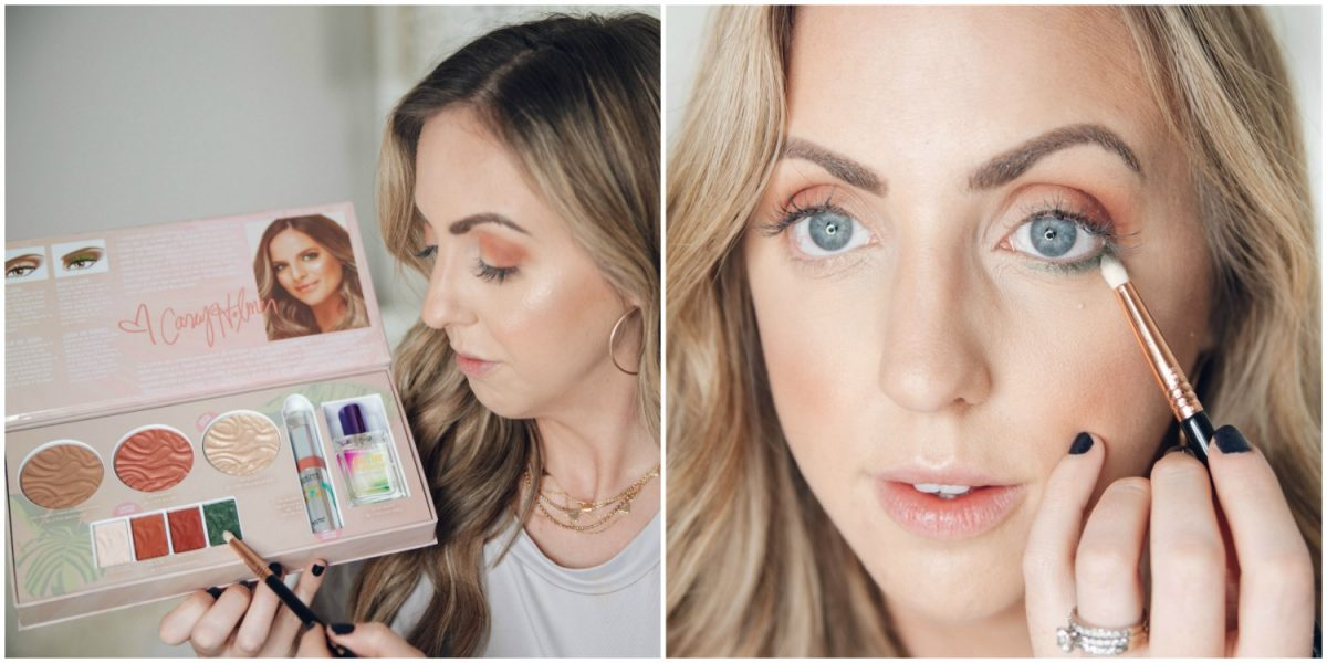 Houston beauty blogger Meg O. on the Go shares how to apply the Physicians Formula Butter Collection x Casey Holmes eyeshadow in Palms Palms