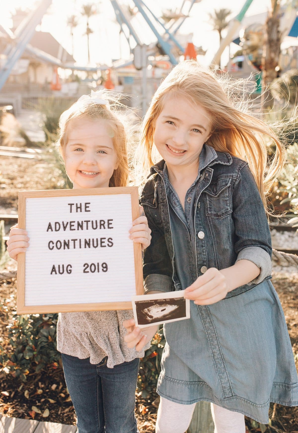Houston mommy blogger Meg O. announces her third pregnancy - baby #3 here we come!