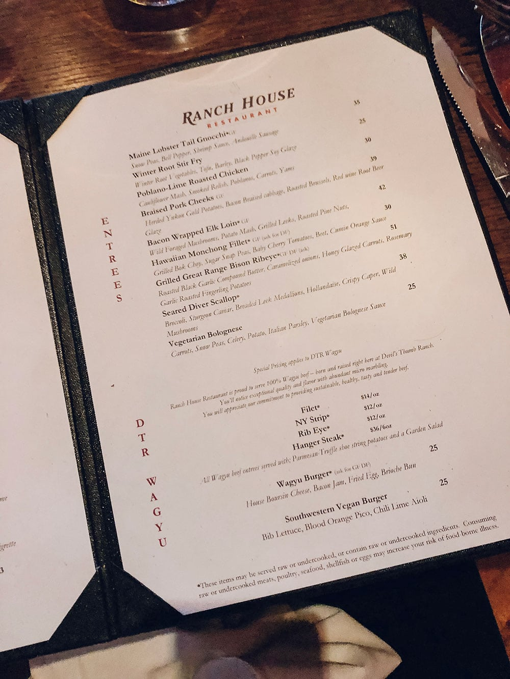 Houston blogger Meg O. shares her family trip to Winter Park Colorado - Ranch House Restaurant at Devil's Thumb Ranch is a must-do