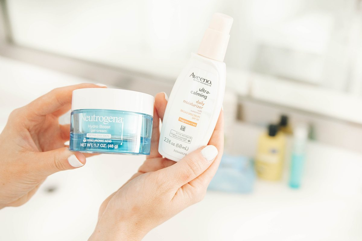 Houston beauty and lifestyle blogger Meg O. on the Go shares her spring skincare routine on a budget - all pregnancy safe! Daytime and nighttime moisturizers