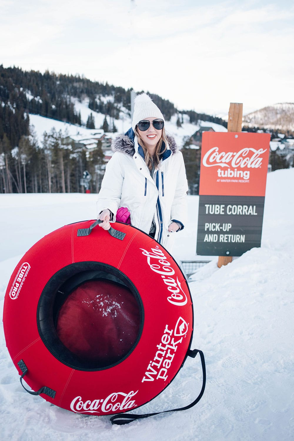 Houston blogger Meg O. shares her family ski vacation to Winter Park Resort Colorado - definitely make sure to visit the Coca Cola Tube Park!