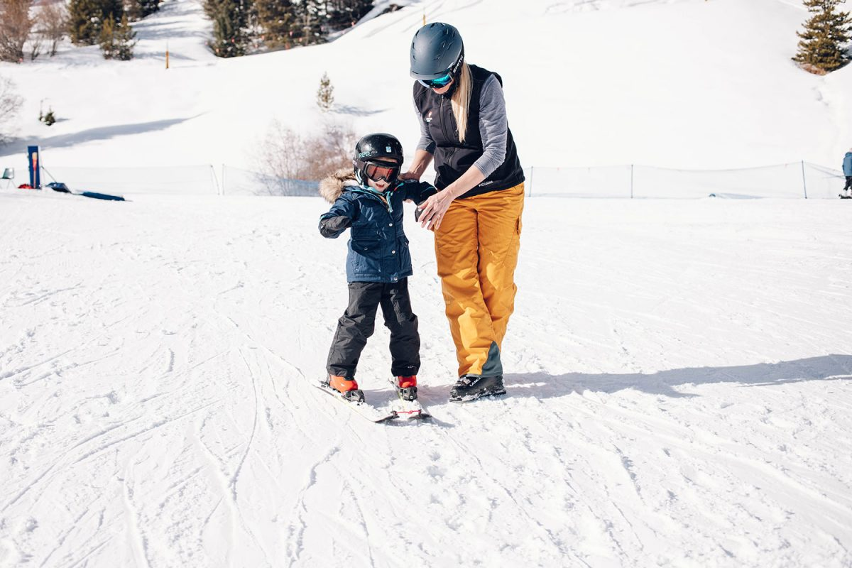 Houston blogger Meg O. shares her ski trip with kids to Winter Park Resort Colorado - Ski + Ride School half day private lesson