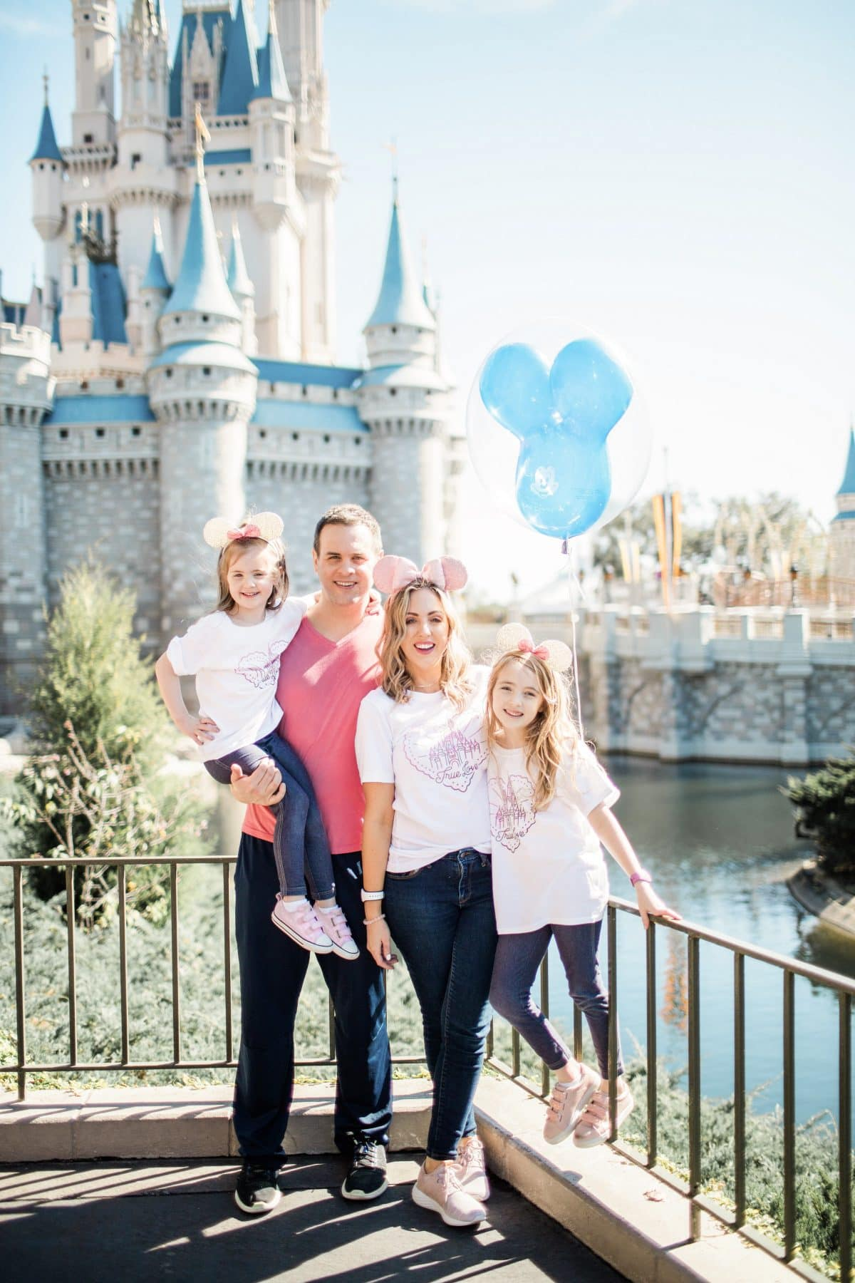 Houston lifestyle blogger Meg O. on the Go shares adorable Disney tees for the whole family. How cute are these True Love tees from It's a Magical Adventure!