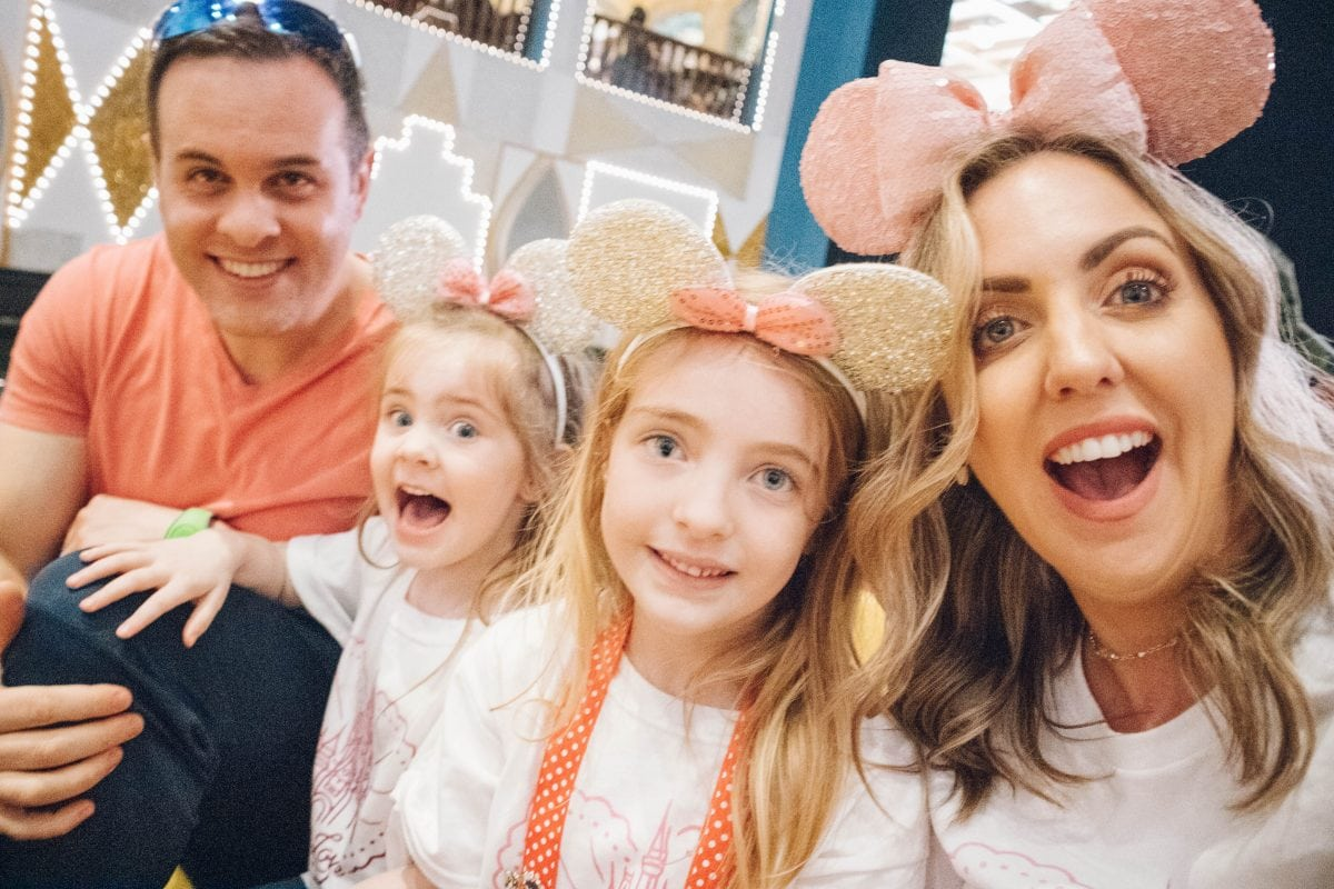Houston lifestyle blogger Meg O. shares her family babymoon travel guide and recap to Walt Disney World - it's a small world ride in Magic Kingdom