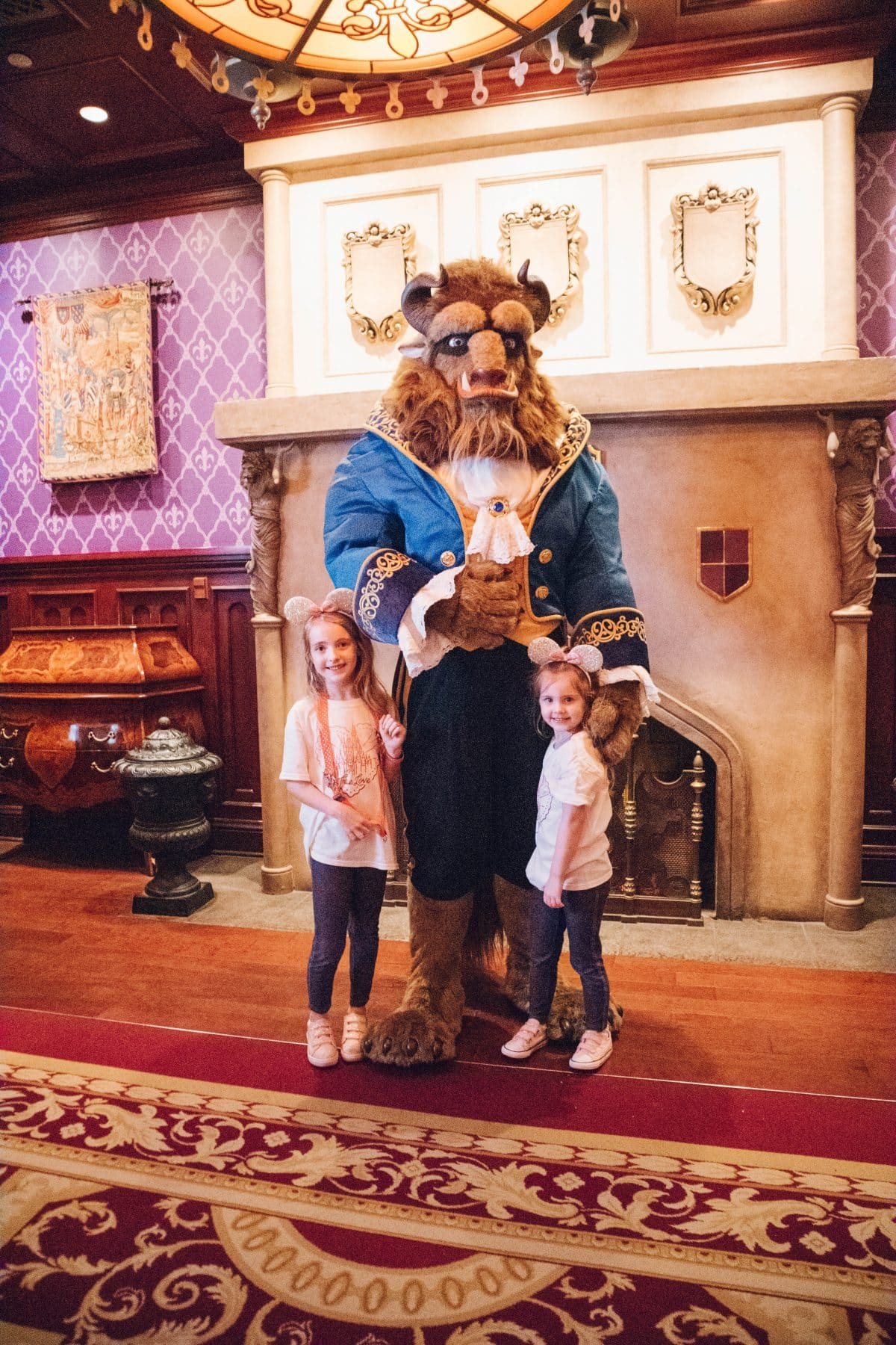 Houston lifestyle blogger Meg O. shares her family babymoon travel guide and recap to Walt Disney World - meeting the Beast at Be Our Guest in Magic Kingdom