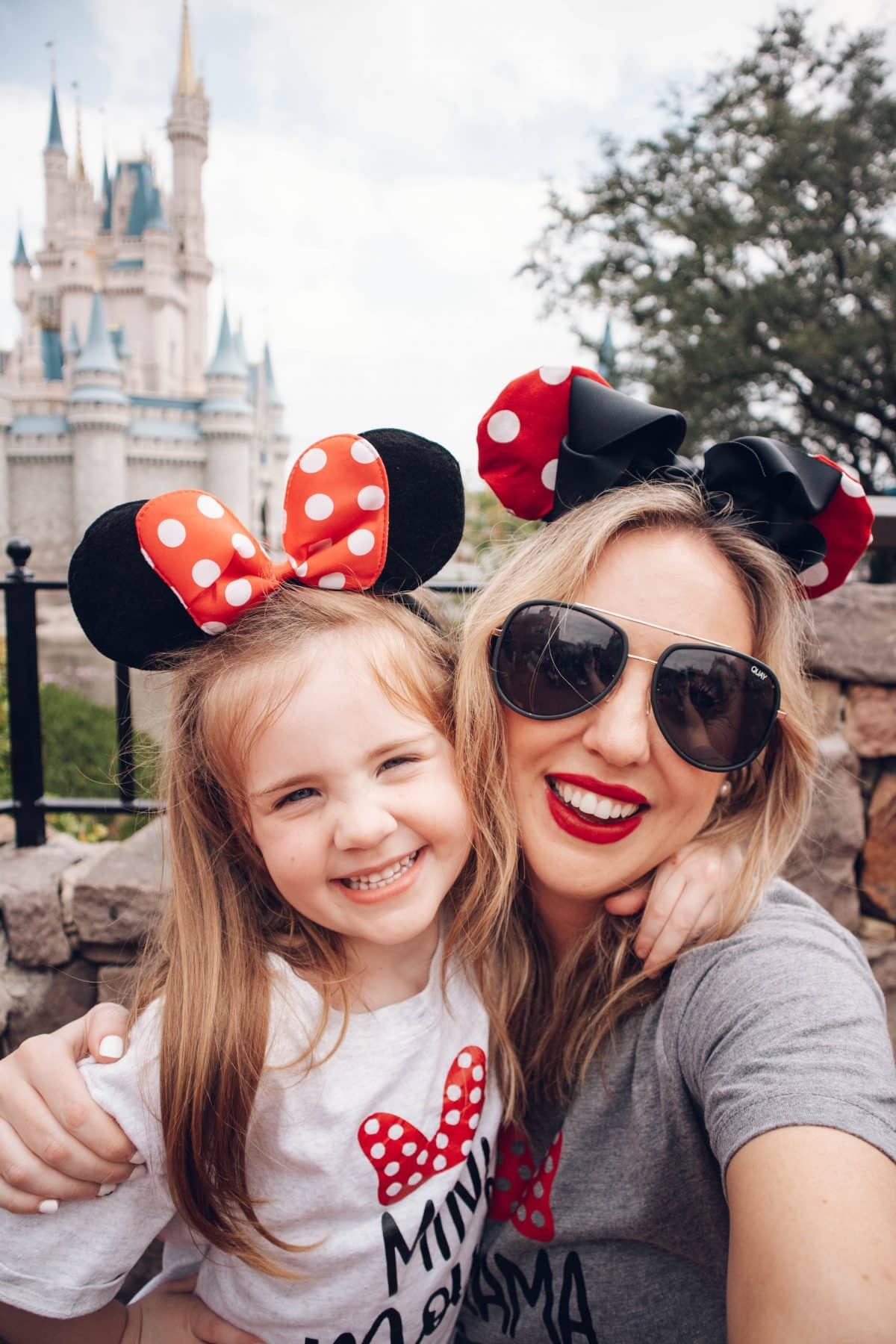 Houston lifestyle blogger Meg O. on the Go shares adorable Disney tees for the whole family. Mama Mouse and Mini Mouse T-shirts from Southern Salt Boutique