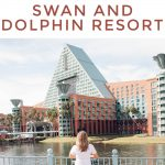 Houston lifestyle blogger Meg O. shares the benefits of staying at the Walt Disney World Swan and Dolphin in Orlando