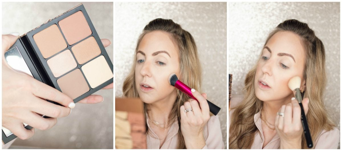 Houston beauty blogger Meg O. shares a spring makeup look - achieve dewy skin and glossy lips! Smashbox Cali Contour Palette for bronzer and blush