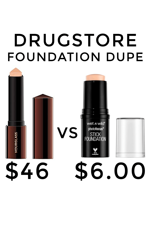 Houston beauty blogger Meg O. on the Go shares a drugstore foundation dupe - Hourglass vs. Wet n Wild