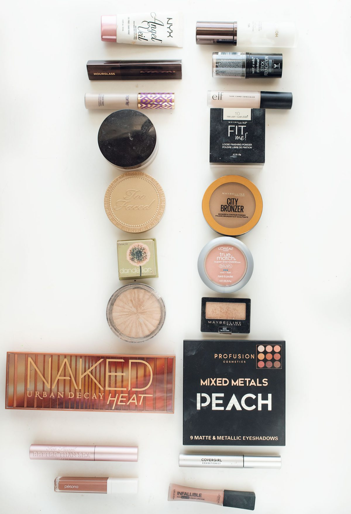 Houston beauty blogger Meg O. shares a full face of drugstore makeup dupes