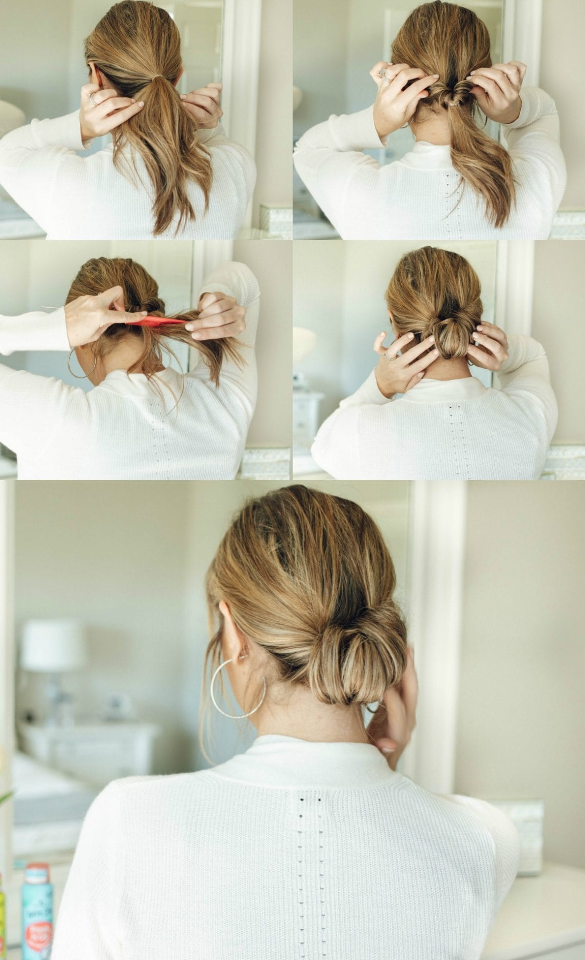 Surprising 3 Easy Hairstyles For Second Day Hair And Beyond Fine Hair Schematic Wiring Diagrams Phreekkolirunnerswayorg